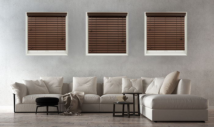 Accent Faux Wood Blinds