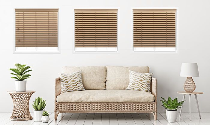 Basics Faux Wood Blinds